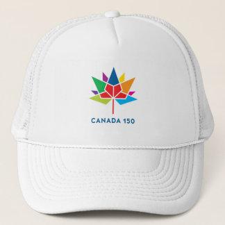 Boné Logotipo do oficial de Canadá 150 - multicolorido