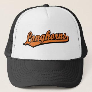 Boné Logotipo do roteiro dos Longhorns na laranja