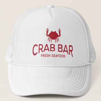 Boné Logotipo fresco do marisco do bar do caranguejo