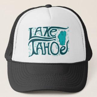 Boné Logotipo tirado mão de Lake Tahoe