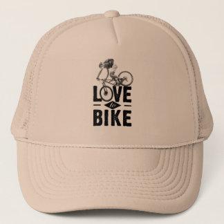Boné Love to Cap bike