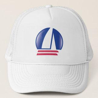 Boné Lua de Sailing_Pontoon Racing_Blue do catamarã