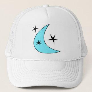 Boné Lua retro & estrelas do Bumerangue