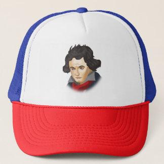 Boné Ludwig Van Beethoven no estilo cartoon