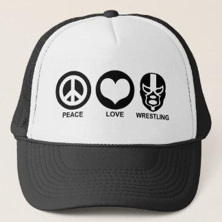 Boné Luta do amor da paz
