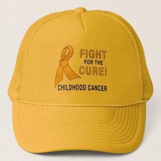 Boné Luta do cancer da infância para a cura