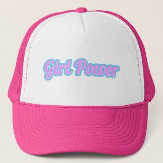 Boné Luz de poder da menina - rosa e luz - azul