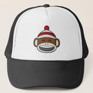 Boné Macaco grande Emoji da peúga do sorriso