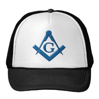 boné maçónico do logotipo