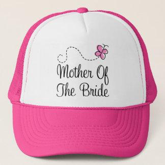 Boné Mãe do chapéu da noiva