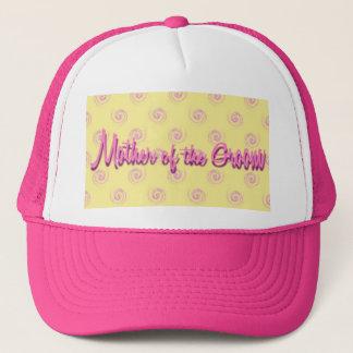 Boné Mãe do chapéu do noivo