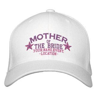 Boné Mãe personalizada das estrelas da noiva no rosa