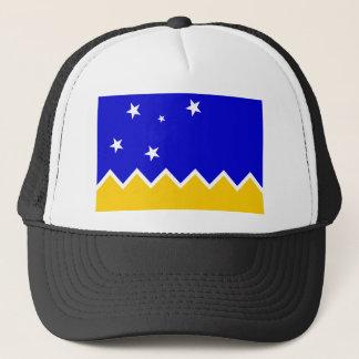 Boné Magallanes, bandeira do Chile, a Antártica