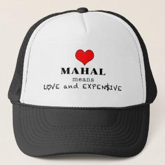 Boné Mahal significa