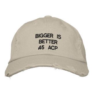 Boné Mais grande é melhor .45 ACP