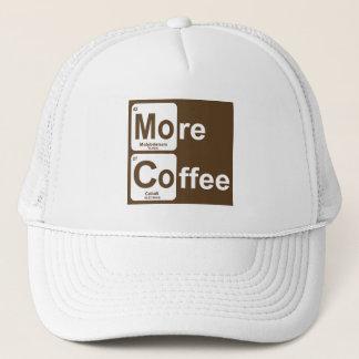 Boné Mais mesa periódica do café