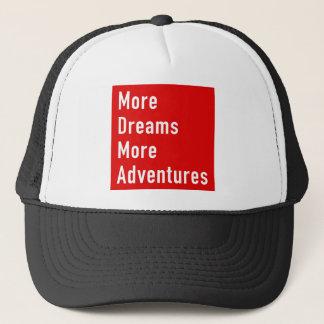 Boné Mais sonha mais aventuras