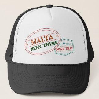 Boné Malta feito lá isso