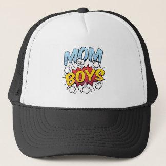 Boné Mamã do estilo da banda desenhada do dia das mães