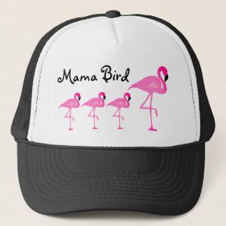 Boné Mama Pássaro Camionista Chapéu do flamingo