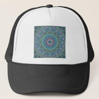Boné Mandala abstrata de turquesa