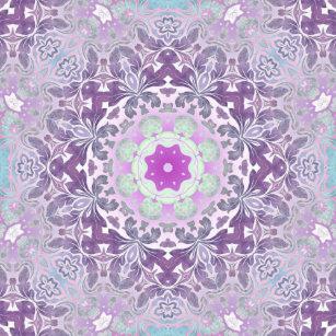 Boné Mandala boémia chique do roxo do lilac de Boho 5310bd8efdc