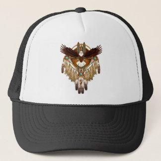 Boné Mandala da águia americana - revisada