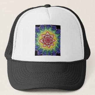 Boné Mandala do arco-íris