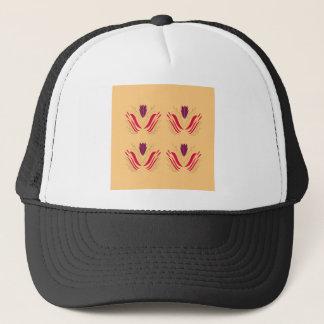 Boné Mandalas do design na baunilha