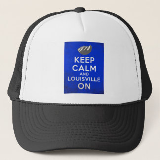 Boné Mantenha a calma e o Louisville sobre, Louisville,