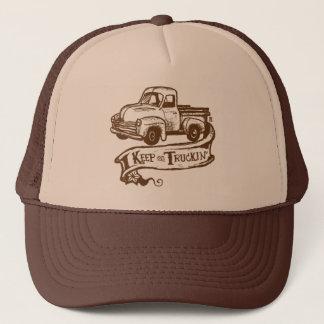Boné Mantenha no chapéu de Truckin