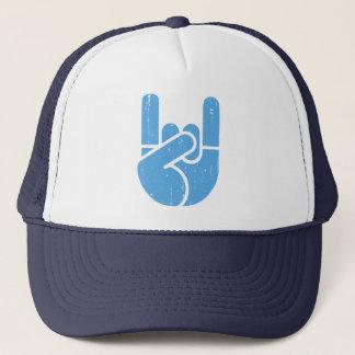 Boné Mão universal da rocha - azul