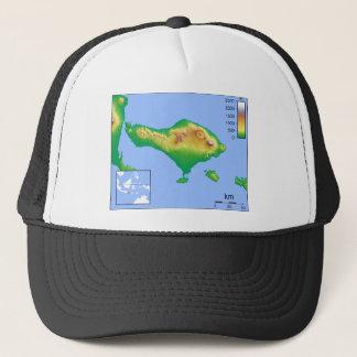 Boné Mapa de Bali