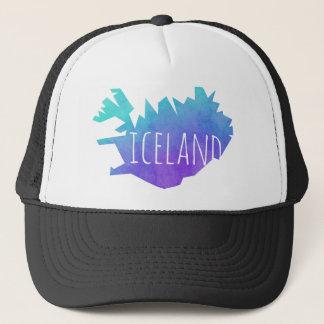 Boné Mapa de Islândia