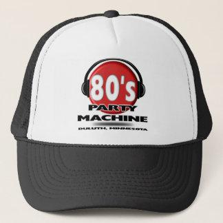 Boné máquina do partido do anos 80