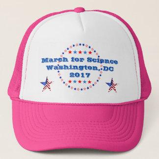 Boné Março no Washington DC da ciência