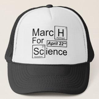 Boné Março para a ciência