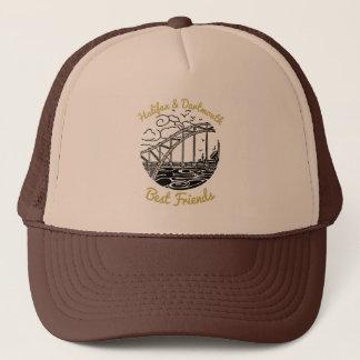 Boné Marrom do chapéu dos melhores amigos de Halifax