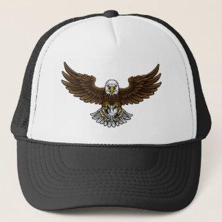 Boné Mascote do futebol do futebol de Eagle