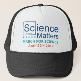 Boné Matérias da ciência