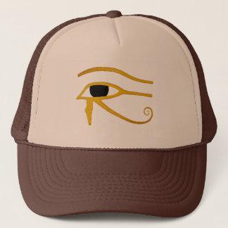 Boné mau ao olho egípcio do osso da camisa do horus