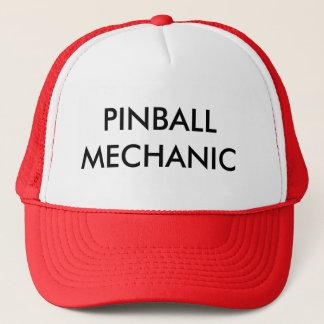 BONÉ MECÂNICO DO PINBALL