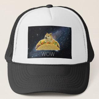 Boné meme do taco do espaço do doge