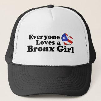 Boné Menina de Bronx do porto-riquenho