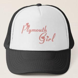 Boné Menina de Plymouth