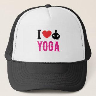 Boné menina do amor da ioga bonito
