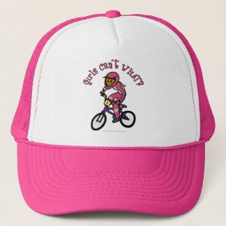Boné Meninas cor-de-rosa escuras BMX