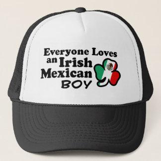 Boné Menino mexicano irlandês