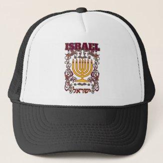 Boné Menorah, o candelabro sagrado de Israel