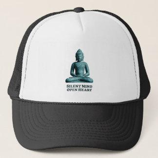 Boné Mente silenciosa - chapéu do camionista